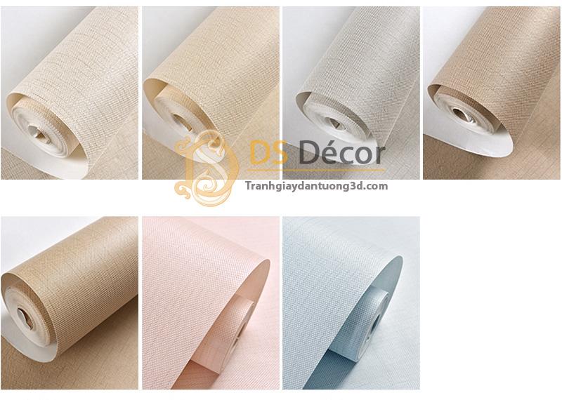 7 màu sản phẩm Giấy dán tường 3d sọc sofa đơn giản