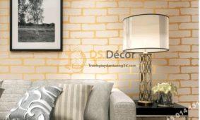 20  Mẫu giấy dán tường màu kem siêu đẹp