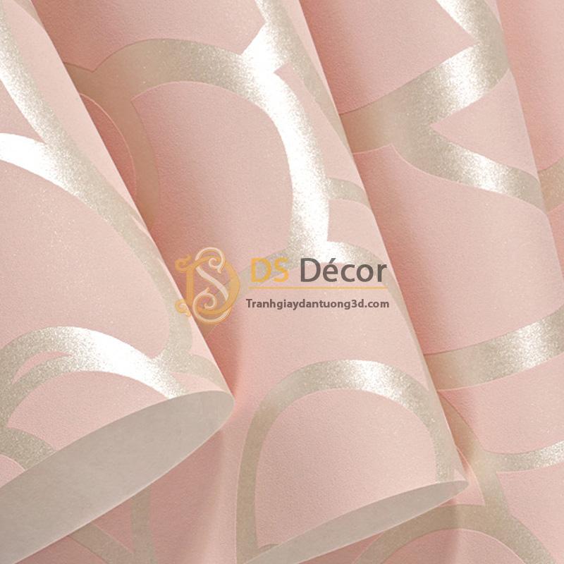Bề mặt Giấy dán tường hoa hồng phòng ngủ 3D013
