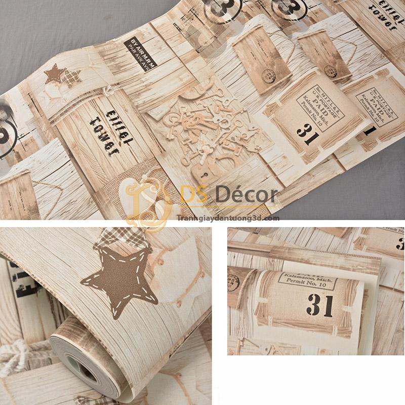 giấy-dán-tường-giả-gỗ-họa-tiết-kiểu-retro-3d055-03