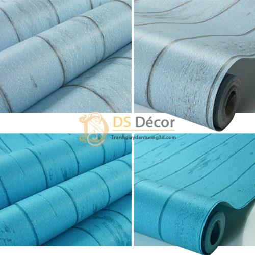 giấy-dán-tường-giả-ván-gỗ-xanh-nước-biển-3D065-03