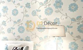 Giấy Dán Tường Họa Tiết Hoa Hướng Dương Chạm Nổi 3D069