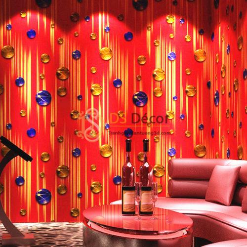 giấy-dán-tường-phòng-hát-karaoke-họa-tiết-ngọc-rơi-5d051-02