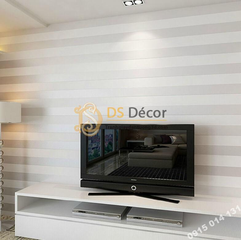 giấy-dán-tường-sọc-dọc-hiện-đại-3d071-mau trắng phòng khách