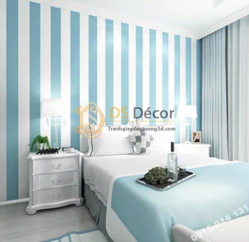 giấy-dán-tường-sọc-dọc-hiện-đại-3d071-mau xanh