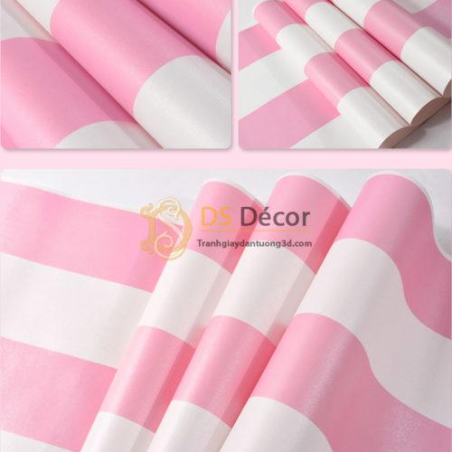 giấy-dán-tường-sọc-hồng-hello-kitty-3d062-03
