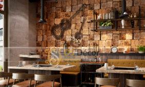 Cách Chọn Giấy Dán Tường Cho Quán Cà Phê (Cafe)