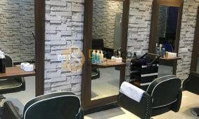 Cách Trang Trí Tiệm Tóc Nhỏ, Salon Tóc Với Giấy Dán Tường 3D