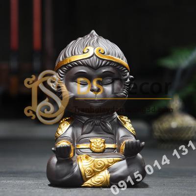 Đồ-gốm-trang-trí-tượng-đại-thánh-ngồi-thiền-DTT01-04