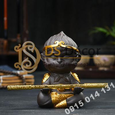 Đồ-gốm-trang-trí-tượng-đại-thánh-ngồi-thiền-DTT01-08