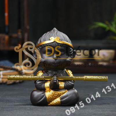 Đồ-gốm-trang-trí-tượng-đại-thánh-ngồi-thiền-DTT01-09