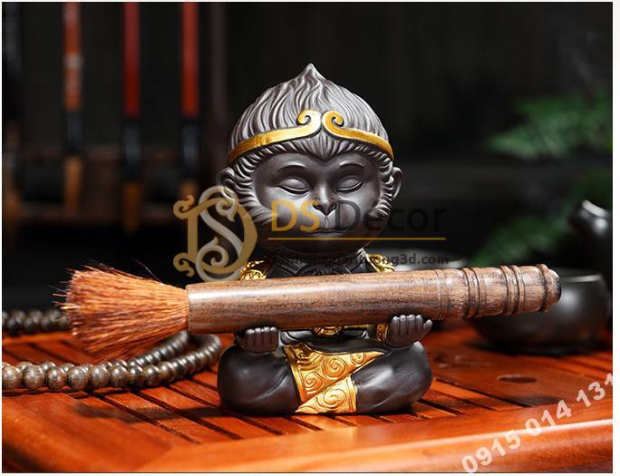 Đồ-gốm-trang-trí-tượng-đại-thánh-ngồi-thiền-DTT01-10