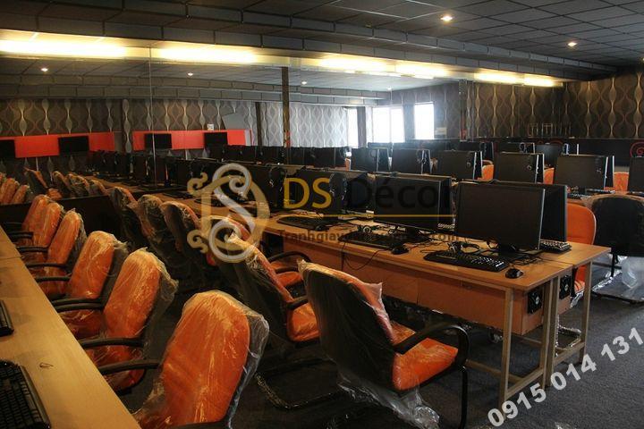 Giấy Dán Tường 3D Họa Tiết Sóng Biển – 3D015 trang trí phòng game