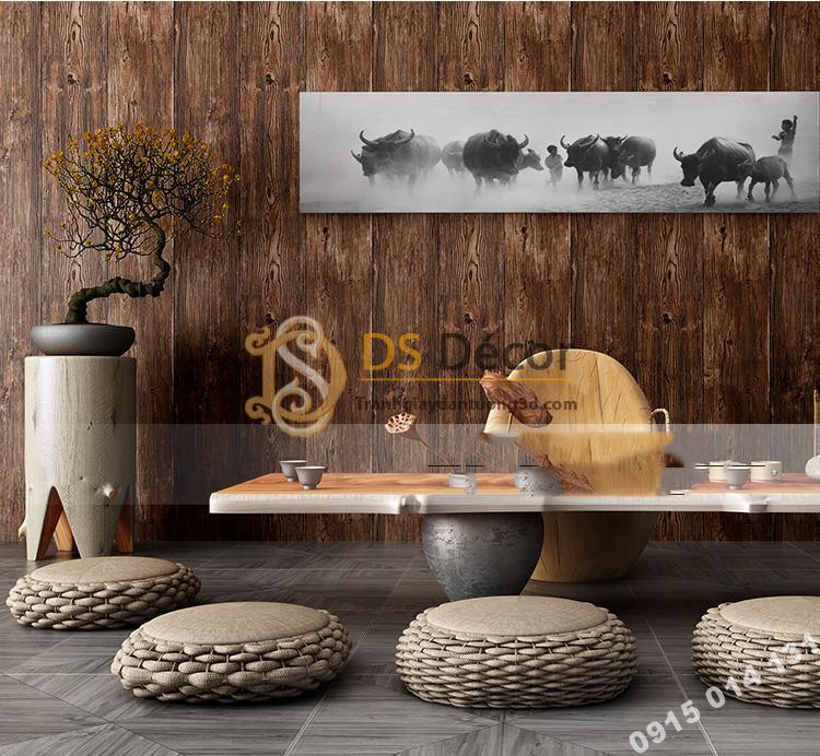 Giấy-dán-tường-giả-gỗ-3D103-màu đậm