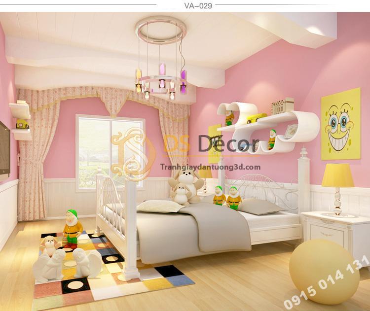 Giấy-dán-tường-một-màu-3D108--35-màu-tha-hồ-chọn--va29