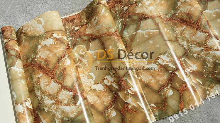 Bề mặt giấy dán tường giả đá tự nhiên 3D177