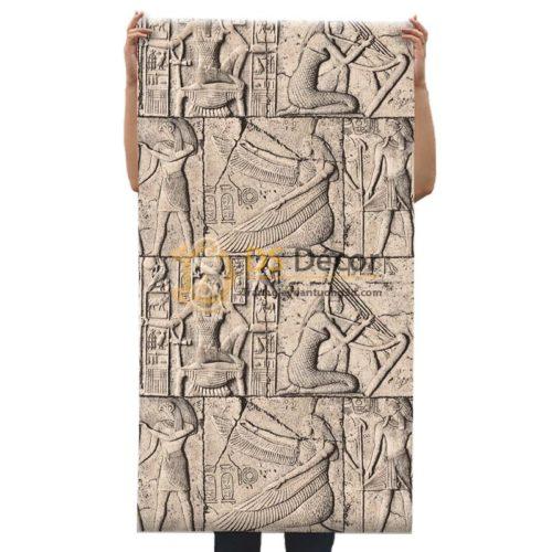 Bề mặt Giấy dán tường họa tiết Pharaoh Ai Cập 3D175