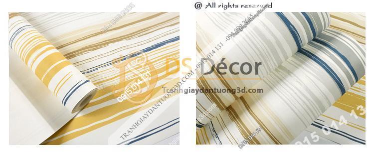 Giấy dán tường kiểu màu chữ trôi 3D183 -02