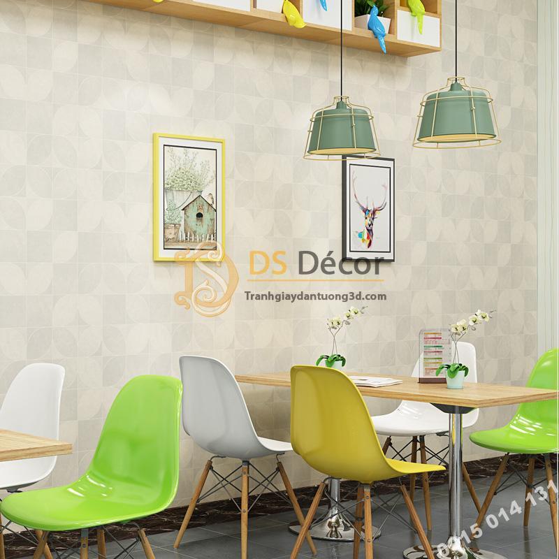 Giay-dan-tuong-la-cay-doi-xung-don-gian-3D246-mau trang