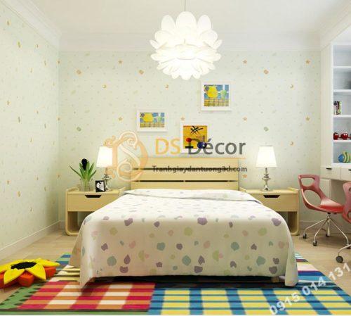 Giay-dan-tuong-trang-sao-phong-cua-be-3D136-xanh-luc-064