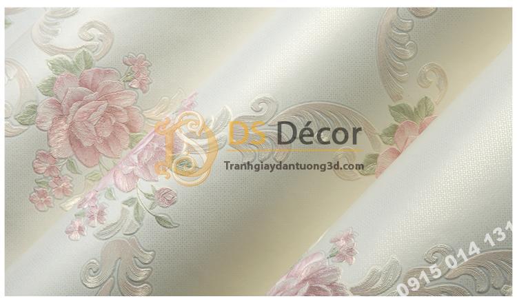 Bề mặt Giấy dán tường phòng khác countryside 3D149 màu hồng