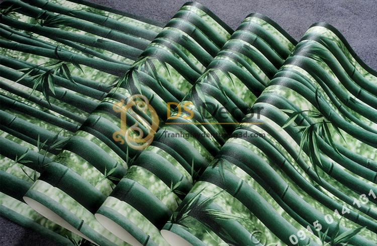 Bề mặt Giấy dán tường rừng tre xanh 3D159