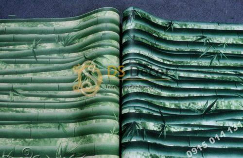 2 Màu Giấy dán tường rừng tre xanh 3D159
