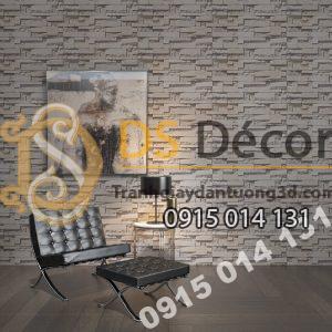 Giấy dán tường Hàn Quốc NATURAL giả đá 87001-2 dán phòng khách
