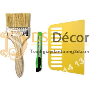 Combo bộ dụng cụ thi công giấy dán tường mini DTC1