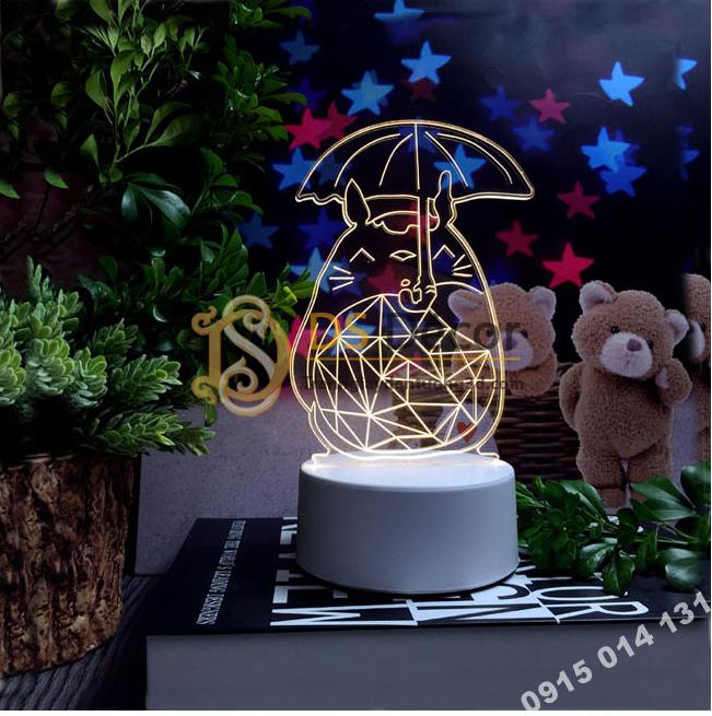 Đèn led 3d trang trí quà tặng độc đáo DTT11 - hoạt hình