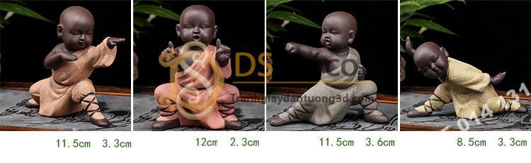 Kích thước Tượng kungfu kid DTT06