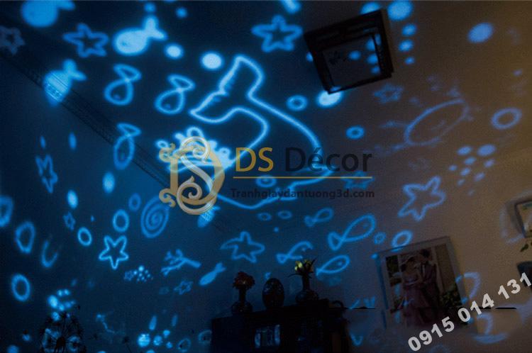 Quà tặng đèn ngủ tạo không gian 3D DPS1 mô hình biển khơi
