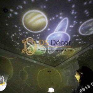 Quà tặng đèn ngủ tạo không gian 3D DPS1 mô hình giải ngân hà