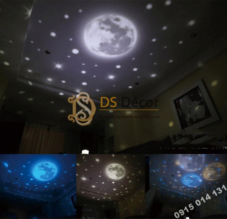 Quà tặng đèn ngủ tạo không gian 3D DPS1 mô hình trăng rằm