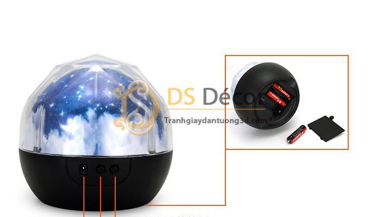Quà tặng đèn ngủ tạo không gian 3D DPS1 có thể sử dụng pin hoặc sạc USB