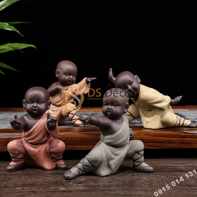 Tượng kungfu kid DTT06
