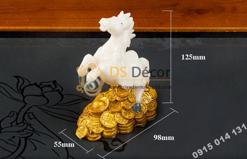 Kích thước tượng ngựa DTT07