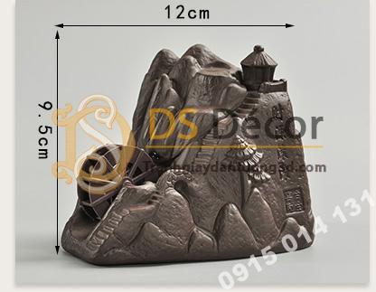 Kích thước Tượng núi đá bánh xe nước DTT03