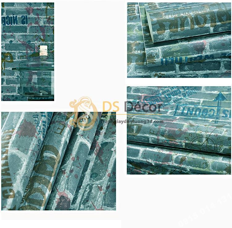 Be-mat-Giay-dan-tuong-gia-gach-graffiti-hip-hop-3D216-mau-xanh
