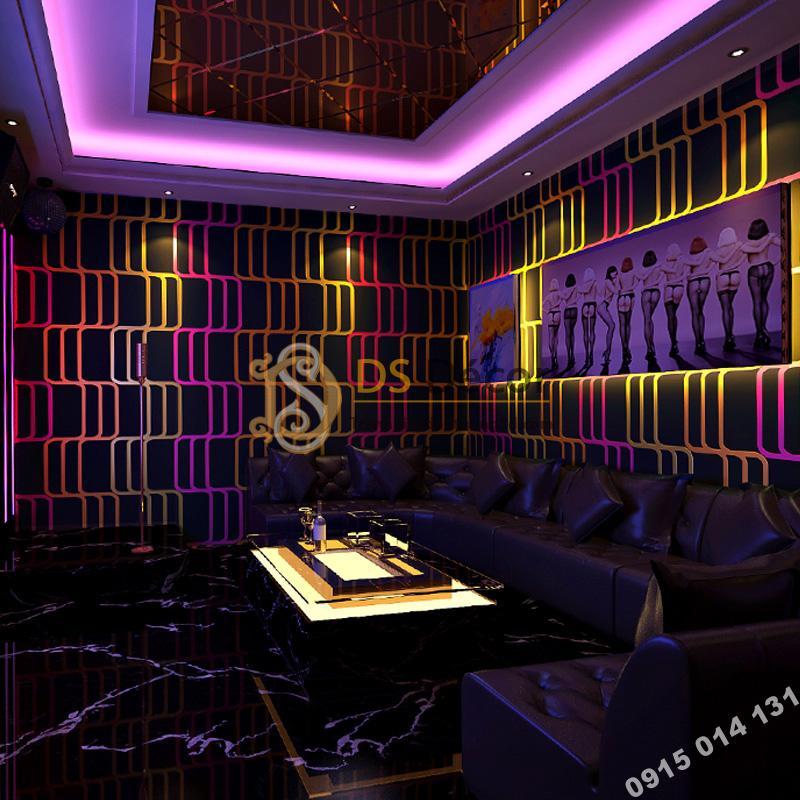 Giay-dan-tuong-soc-vang-hong-quan-bar-karaoke-3D215