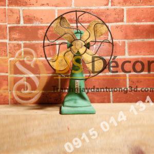 Quạt con cóc cổ trang trí quán cafe DC02
