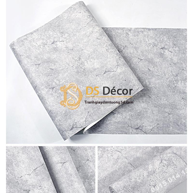 Giấy dán tường giả Xi măng 3D217 mã HDQZ 158041 bề mặt