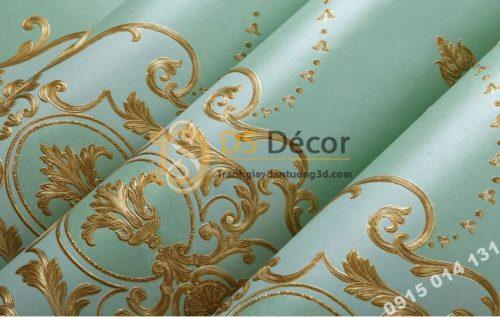 Be-mat-Giay-dan-tuong-hoa-tiet-canh-buom-co-dien-3D227-mau-xanh