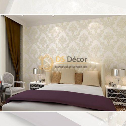 Giay-dan-tuong-hoa-co-dien-mau-trang-gao-3D225-phong-ngu