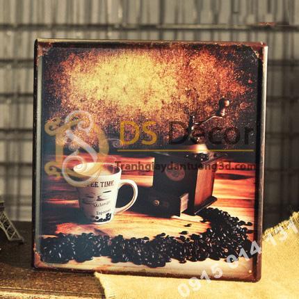 Tranh-sat-tro-tuong-trang-tri-quan-cafe-DC05-hat-cafe