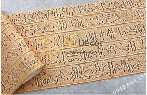 Bề mặt Giấy dán tường họa tiết ai cập cổ đại 3D261