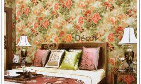 17 Mẫu giấy dán tường phòng ngủ màu hồng đẹp lãng mạn nhất