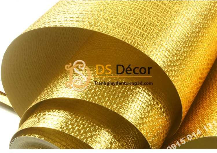 Giấy dán tường mạ vàng vân kiểu xác rắn 3D298