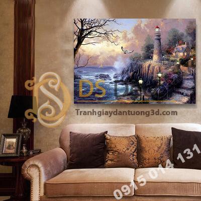 Tranh treo tường ngọn hải đăng S