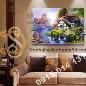 Tranh treo tường phong cảnh Mẫu D